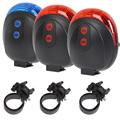 Free shipping Cycling Bike Light Rear Tail Safety Warning 5 LED 2 Laser Flashing Lamp Light