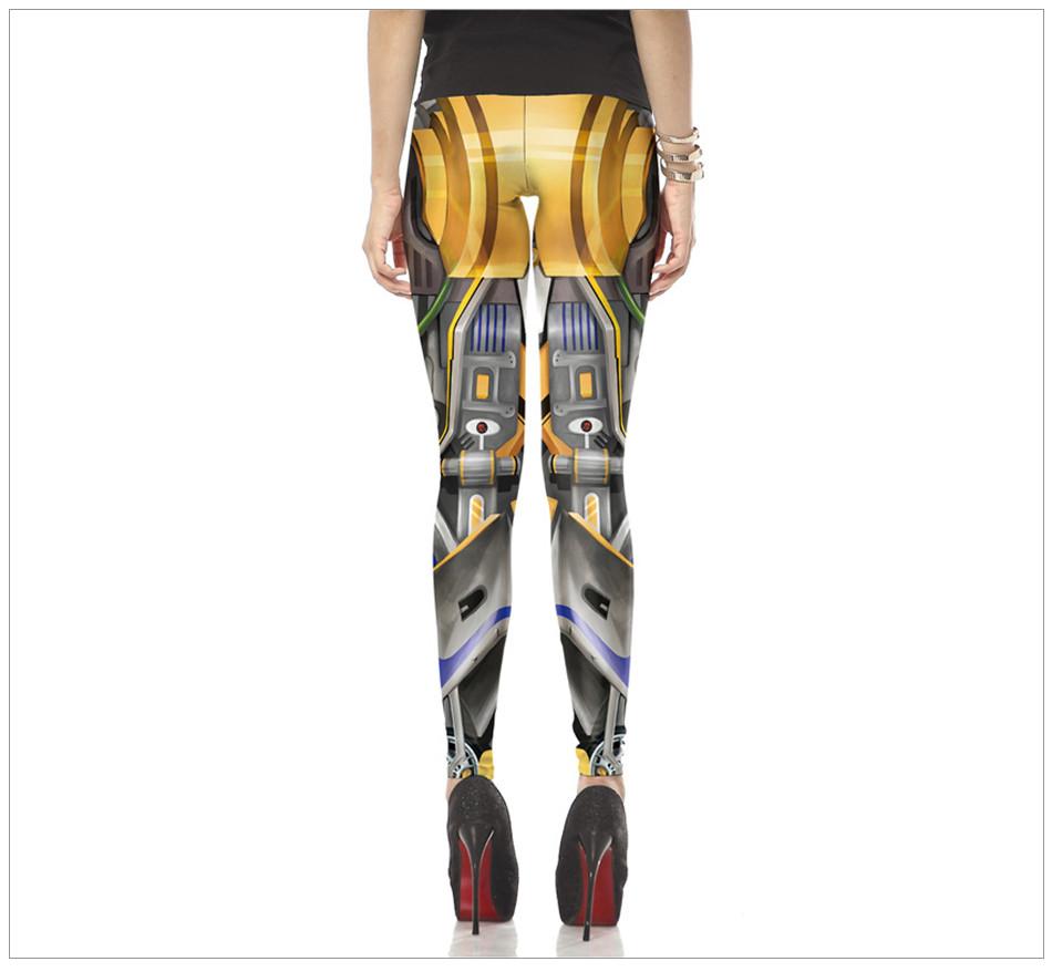 Women Steampunk leggin 3d Print