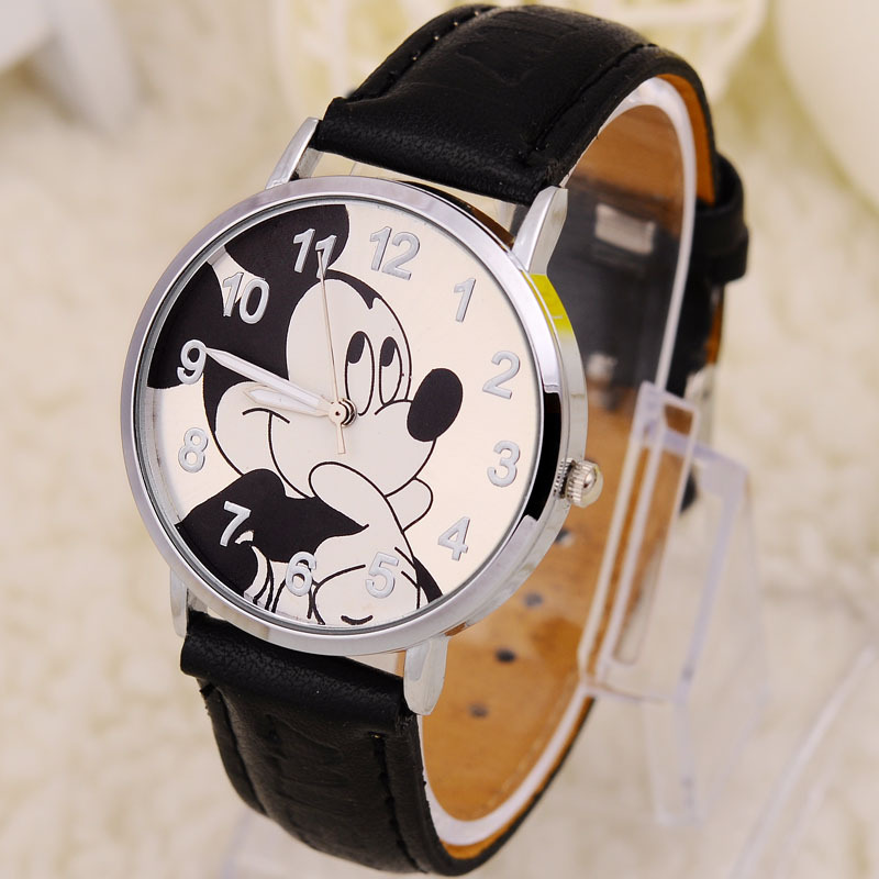 Mouse cartoon watch women watches kids quartz wristwatch child boy clock girl gift relogio infantil reloj ninos montre enfant - cason's store
