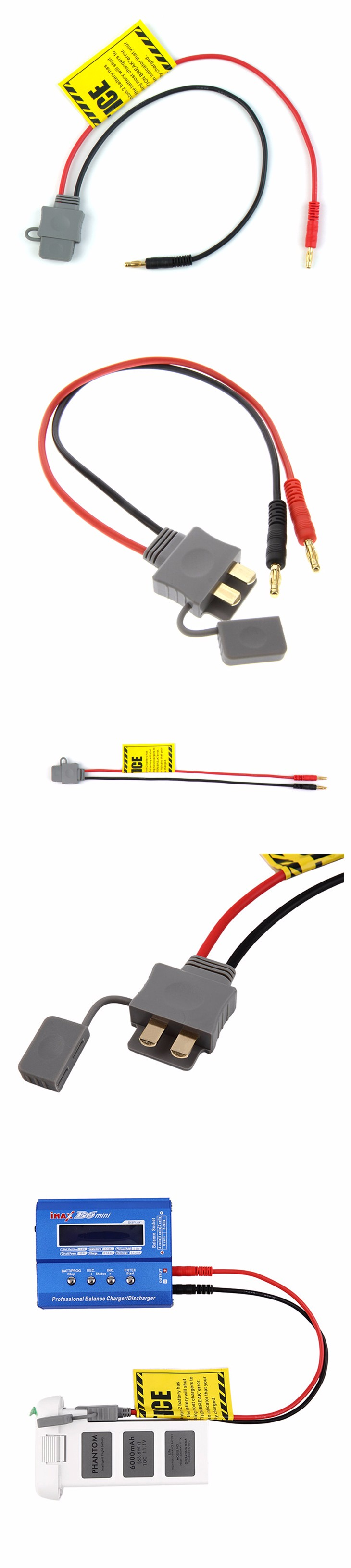 15cm B6 B6AC charger cable For DJI Phantom 2 3 B6 B6AC charging cable adaptor DJI Accessories