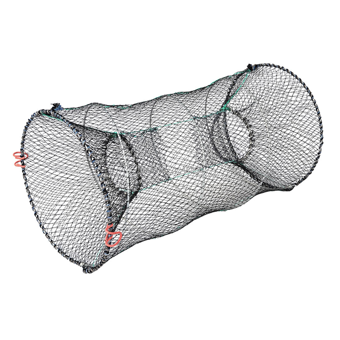 "Crab Crawfish Shrimp Foldable Black Green Fishing Keep Net Trap 23.6""(China (Mainland))"