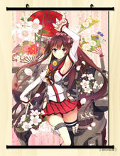 Kantai Collection Kan-Colle Home Decor Anime Japan Poster Wall Scroll a