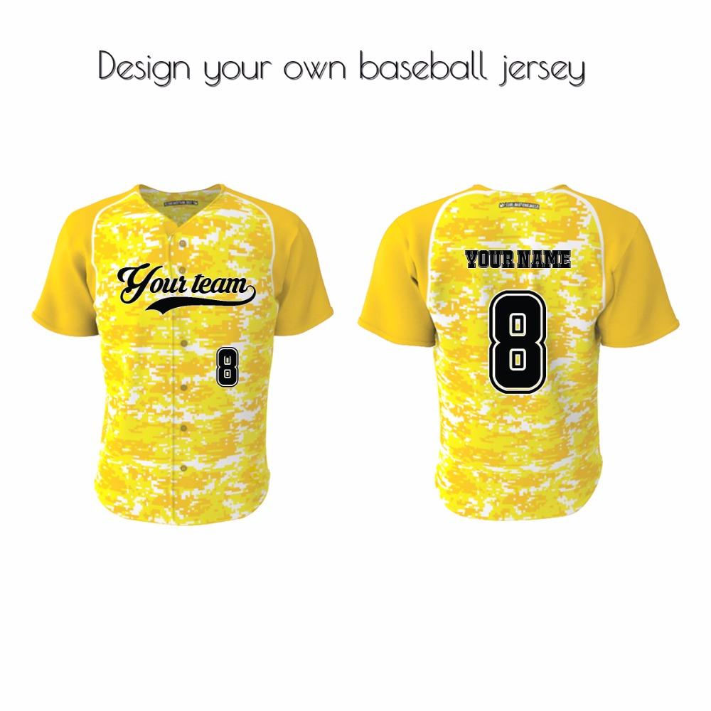 Design your own t shirt cheap australia - 2016 High Quality Custom Baseball Jerseys Polyester Men S Cheap Baseball Uniforms