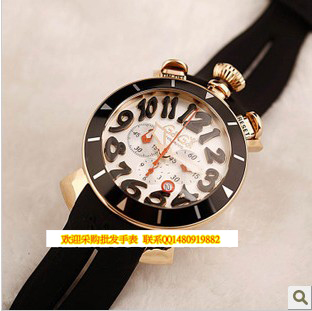 015 Top Fashion Limited Round Spring Summer Watch Dial Gaga Milano Watches Rubber Sheet Travel Essential 7g1 - the watches store