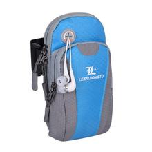LEZAIJIONGTU Sports Bag Waterproof Running Arm Bag Unisex For Smart Phone Gym Bag Running Bag Fanny Phone Pouch Running Armband(China)