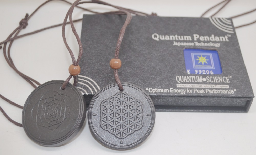 free shipping 50pcs/lot flower of life Quantum Scalar Energy Pendant 5000 ~ 6000 ions with Test Video for each pendant(China (Mainland))