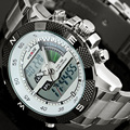 NEW Top Luxury Brand Men Sports Watches Men s Quartz Analog Digital LED Clock Male Army
