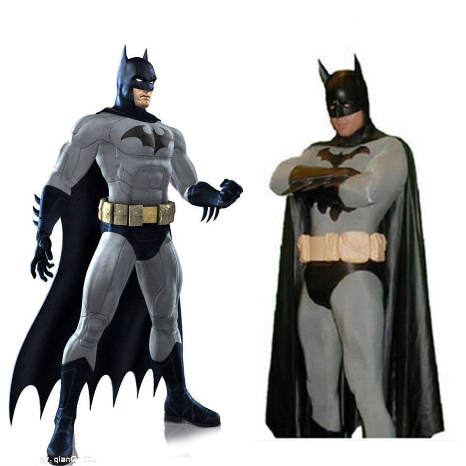 High Quality Black Batman Spiderman Halloween Costumes For Men Adult Child Lycra Spandex zentai Anime SuperHero Cosplay vestidos(China (Mainland))