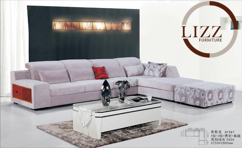 Lizz High Quality Fabric Sofa Living Room Sofa Modern Furniture AF567 Living