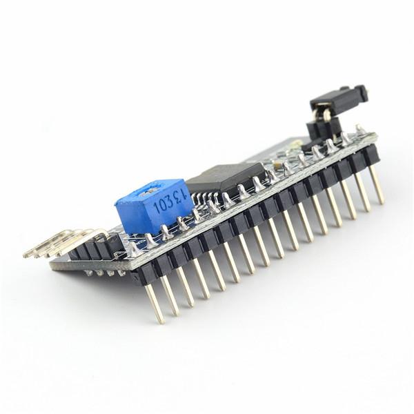 1pc Board Module Port for Arduino 1602 LCD Display Adjustable Backlight of Interface Module IIC I2C