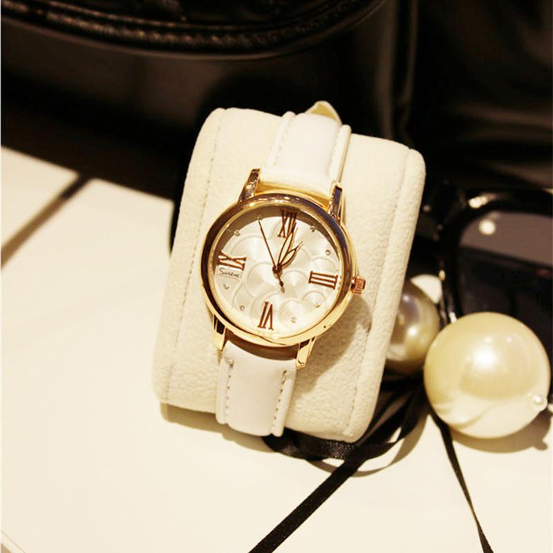 montre femme 2015 Luxury Gold Analog watch women Brand Fashion Geneva watches Quartz Dress Watches Relojes Mujer Clock B-031 - R&BLL store