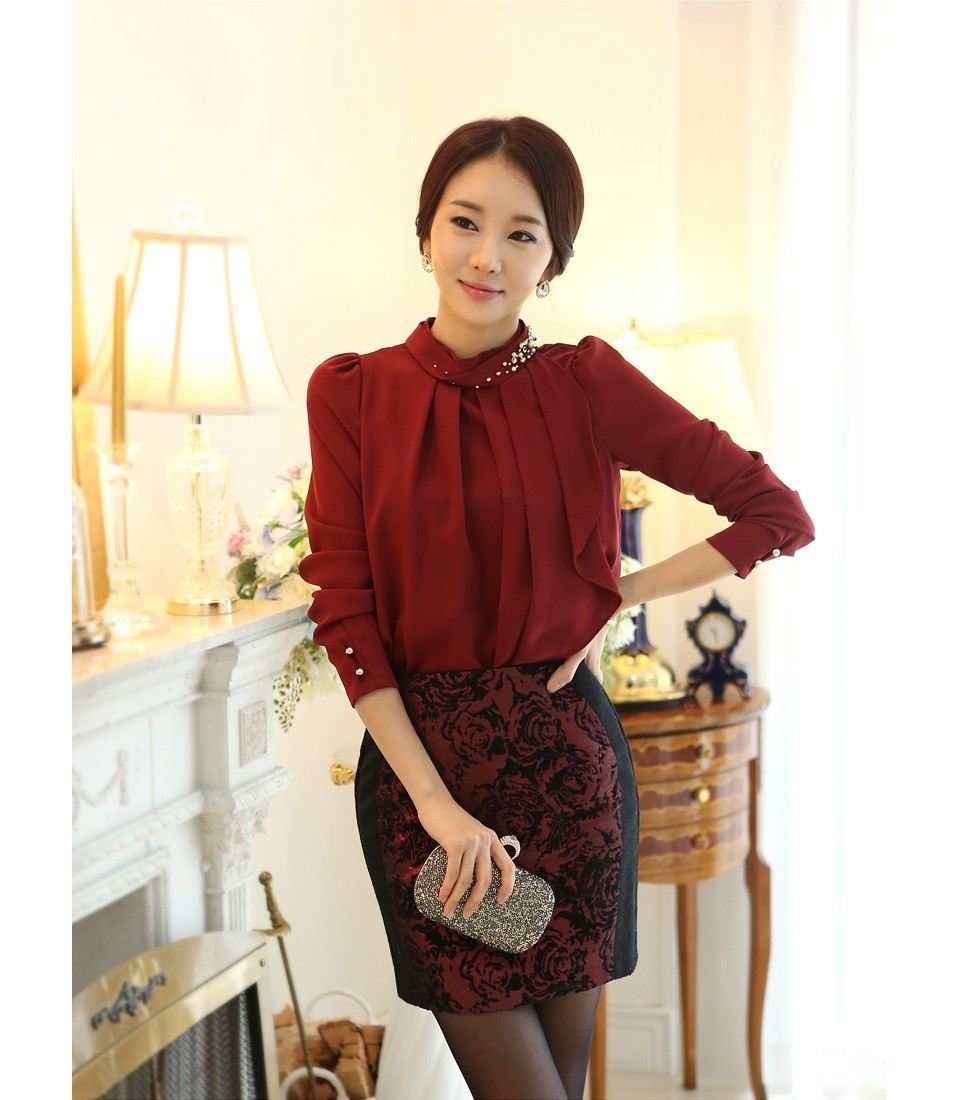 Модели Блузки-Рубашки Из Шифона