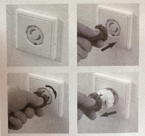 10 шт. ручка разъем защиты от поражения током отверстия дети уход детская безопасность электрическая безопасность пластиковые безопасная блокировка крышки sim-ес разъем