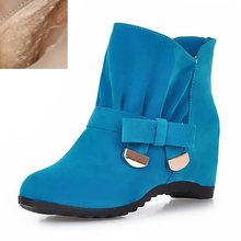 KarinLuna 2018 toptan büyük boy 34-43 en kaliteli kış kadın yarım çizmeler moda eğlence kadın ayakkabısı patik(China)