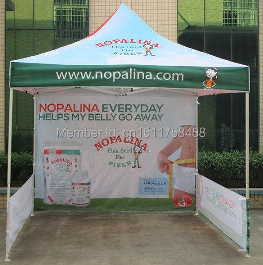 used advertisement or trade show 3*3m aluminum bracket marquee-tent / winter tent / waterproof canopy tent made in China.(China (Mainland))