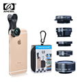 5in1 Camera Lens Kit for Smartphone Fish Eye 2in1 Macro and Wide Angle CPL 2x Tele
