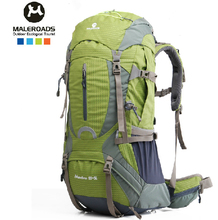 2015 NEW !! Professional Outdoor sport bag large shoulders backpack waterproof nylon 50l 60l for camping hiking climbing(China (Mainland))