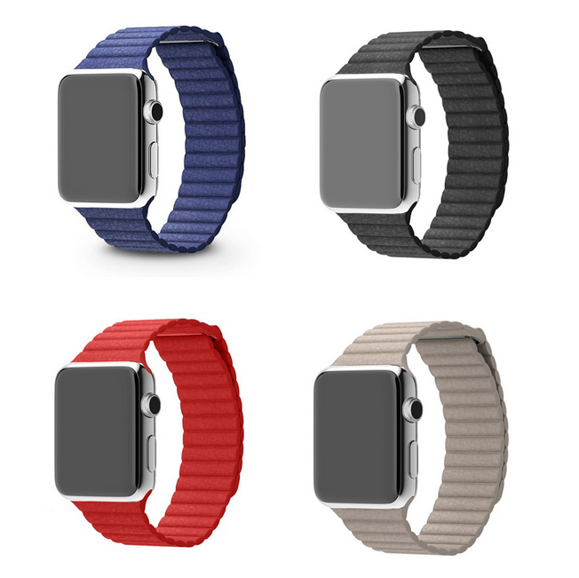 38/42mm Original Metal Magnetic Absorbtion Tortuous Iwatch Band Fashion Genuine Leather Watch Strap Wrist I14.<br><br>Aliexpress