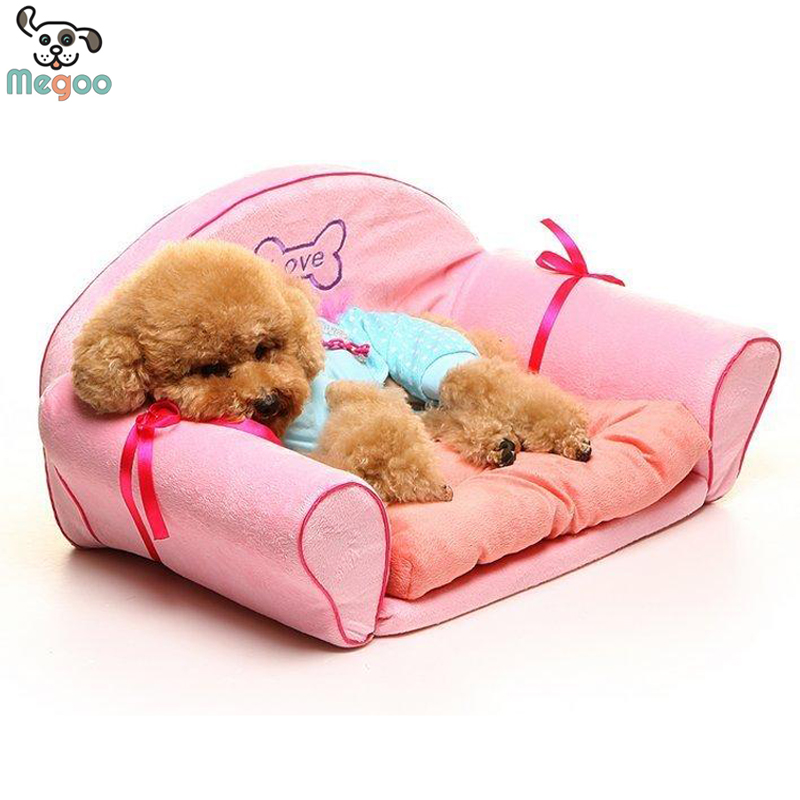 Luxury pink princess dog beds detachable wash small dog - Designer pet beds small dogs ...