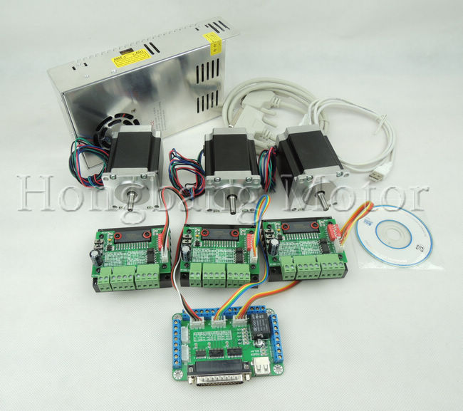 Cnc Router Kit 3 Axis 3pcs Tb6560 1 Axis Stepper Motor