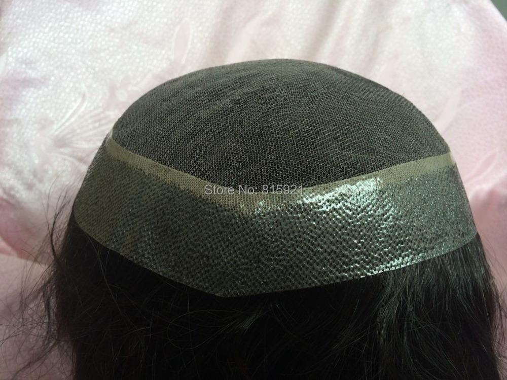 Hair Piece 16 inch Indian Straight 150% Density Swiss Lace Toupee Women - EJS Shop store