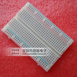 ! 2Quality mini bread board / breadboard 8.5CM x 5.5CM 400 holes - GUANGKE ELECTRONICS CO.,LIMITED store