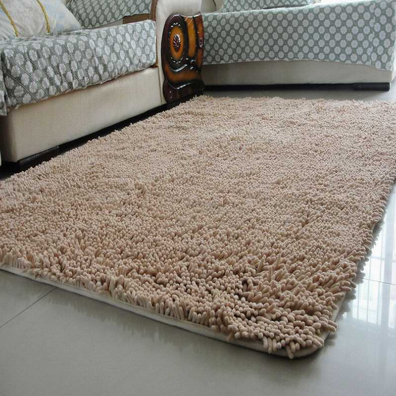 Water absorbent cotton wash slip resistant living room for Home decorators chenille rug
