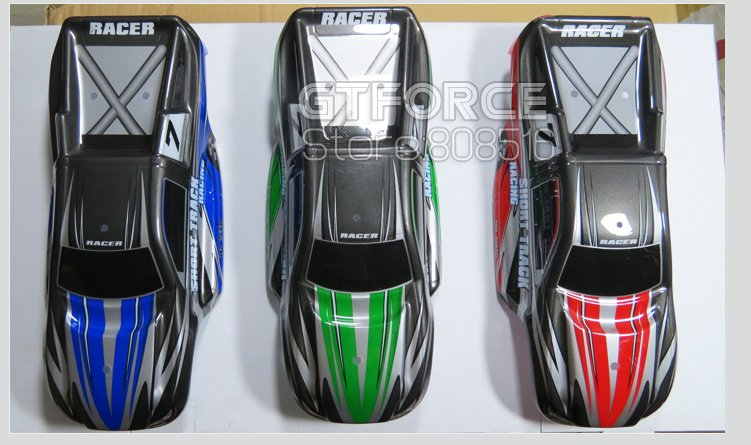 S900 rc truck body cover body shell, green, red , blue, original part from factory, free shipping(China (Mainland))