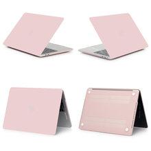 Nuevo ordenador portátil caso para APPle MacBook Air, Pro Retina, 11 12 13 15 mac libro 15,4 de 13,3 pulgadas con Touch Bar funda + funda de teclado(China)