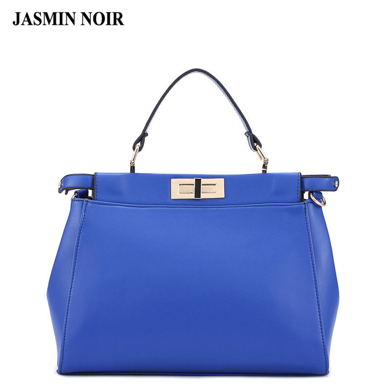 Free shipping Hot Brand Korean fashion woman handbags cat kitten bag female tote bag blue plain leather shoulder cross body bag(China (Mainland))