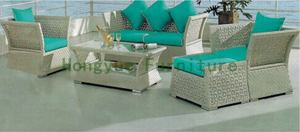 Outdoor garden sofa in rattan sets outdoor sofa furniture
