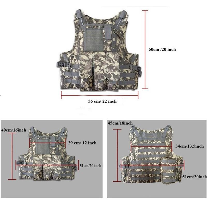 Wargame Vest Tactical Military 2