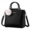 New Women PU Leather Totes Bags Ladies Casual Handbags square weave Handbags Crossbody Bags