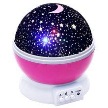 Новинка, люминесцентные игрушки, романтическое звездное небо, светодиодный ночник, проектор, батарея, USB, ночник, шар, творческие подарки для...(China)