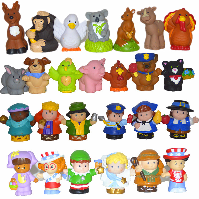 Toys For People : Wholesale mix order pcs lot new little people pvc