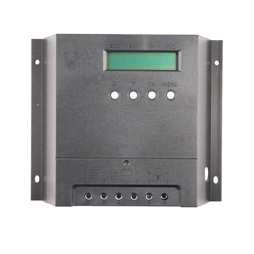 PWM 40A Solar Regulator 12V/24V Auto EMC Design Solar Charge Controller Data Storage LCD Display External Temperature Sensor(China (Mainland))