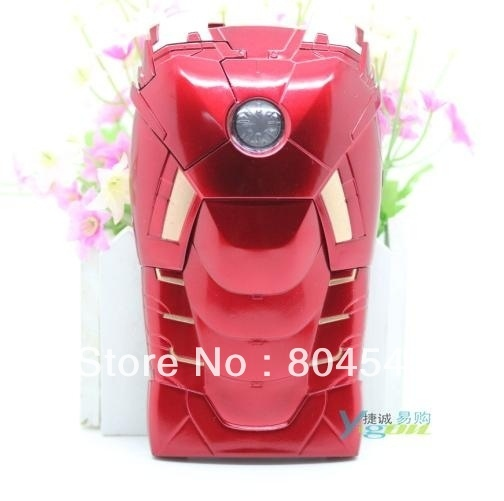 New Arrival Super Cool Powerful The Invincible Iron Man Ironman Dazzle Back Case Cover For New Apple iphone 5 5G Skin P372