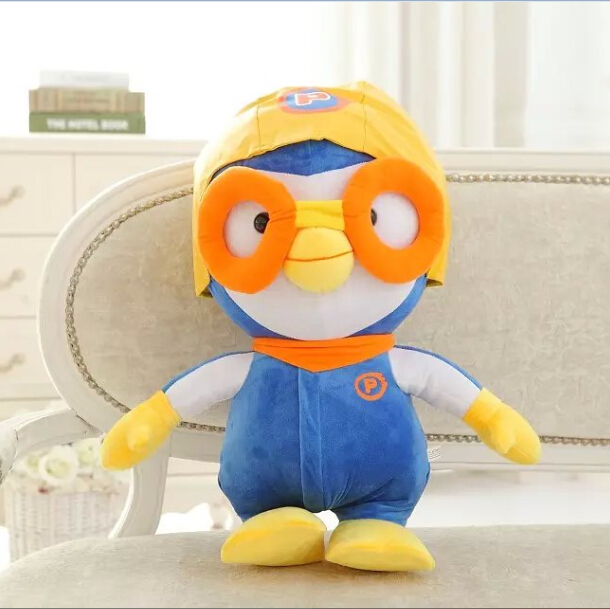 20cm Kawaii Penguin Plush Toys Anime Minions Unicorn Pororo With Glasses Soft Stuffed Animal Doll Kids Toys