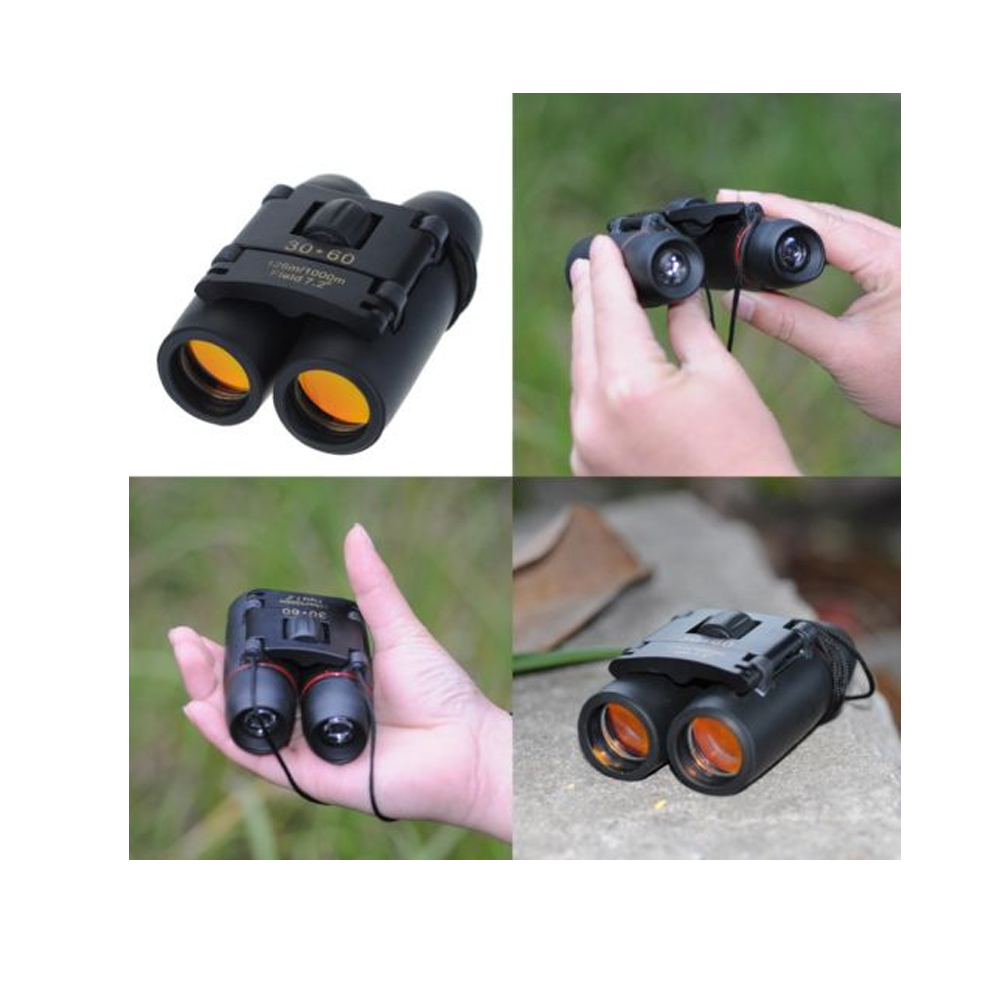 Compact Hiking Binoculars Opera Glasses Day night 30x60 15x Zoom with Case YMT B01