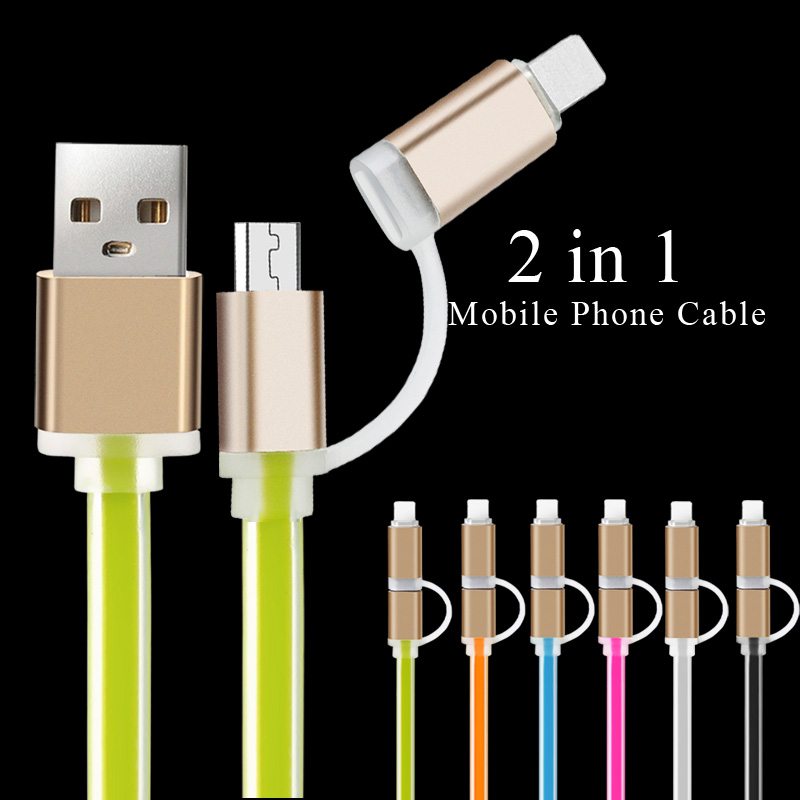 Mobile Phone Charging Micro USB To USB Cable Charger Data For iPhone 6S 6 5S 5 IOS Data For Samsung Galaxy S6 S5 S4 Android 1M