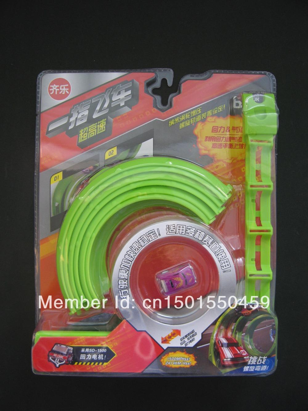 Free shipping Educational Mini Racer, Nano Speed, Christmas gift, DIY mini car toy, Ultrahigh Speed Stunt Sets, Pull back (609a)(Hong Kong)