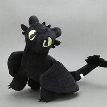 Exclusivo 35 cm Branco Desdentado How To Train Your Dragon3 Fúria Fúria Dragão Branco Luz da Noite Brinquedo de Pelúcia Bicho de pelúcia boneca Brinquedos(China)
