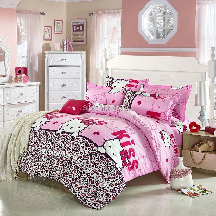 Home Textile Fashion Leopard Print Bedding Sets 3pcs 4pcs