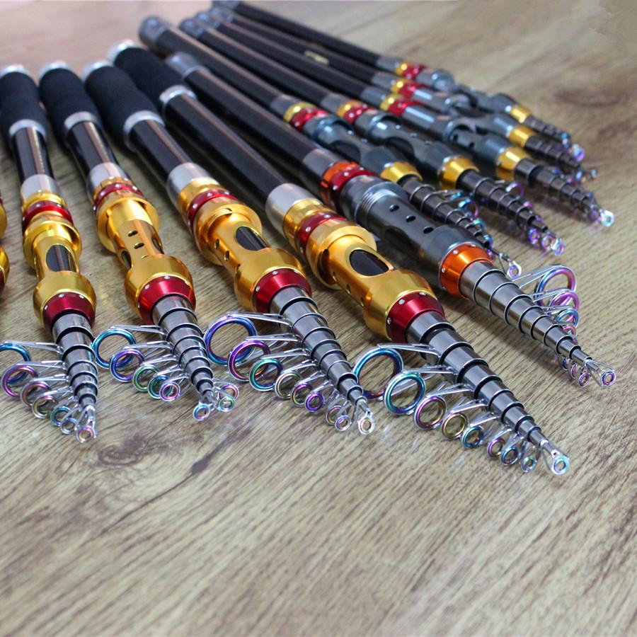 Top Quality Brand 100% Carbon Fiber Fishing Rod Surf Casting Fly Fishing Pole Carp Fishing Stick Boat Rock Fishing Rod(China (Mainland))