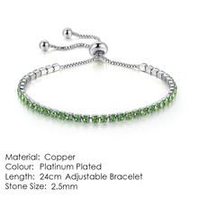 ZHOUYANG צמיד לנשים יוקרה סגנון 4 צבע 4 טפרי פסיפס מעוקב Zirconia כסף צבע תכשיטים מתנה H095(China)