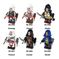 Assassin s Creed 2 Discovery Firenze Single Sale Minifigures Hunter Figure Class Building Block Educational Children