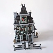 New LEPIN 16007 2141Pcs Monster fighter The haunted house Model Building set Compatible Minifigure Kids Bricks Toys(China (Mainland))