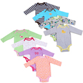 1 PCS Baby Girl Boy Bodysuits long sleeve Infant Baby Clothing Newborn Bodysuits Clothes 100 Cotton