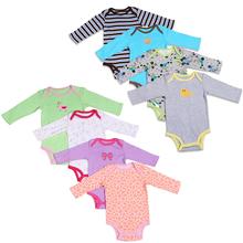 1 PCS Baby Girl font b Boy b font Bodysuits long sleeve Infant Baby font b