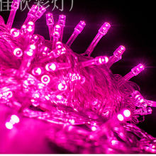 Hot 3AA battery box with 3M 30LED String Light 9 colors for Christmas Wedding Party Decoration Lights garland free shipping(China)